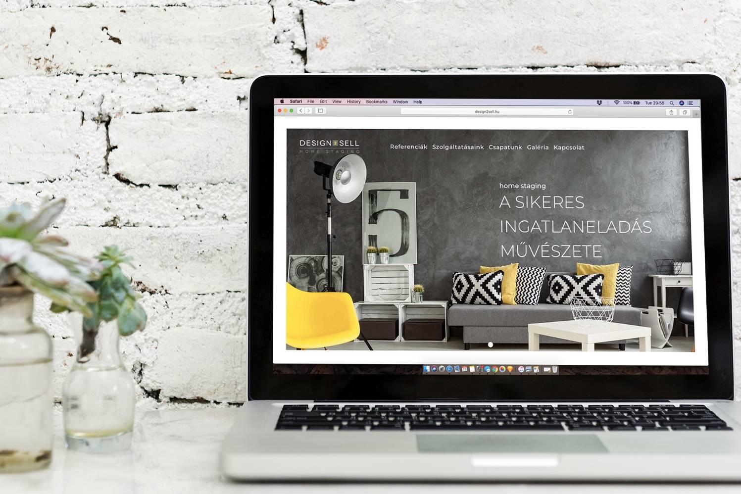 Design2Sell weboldala - készítette: Wndeer Design
