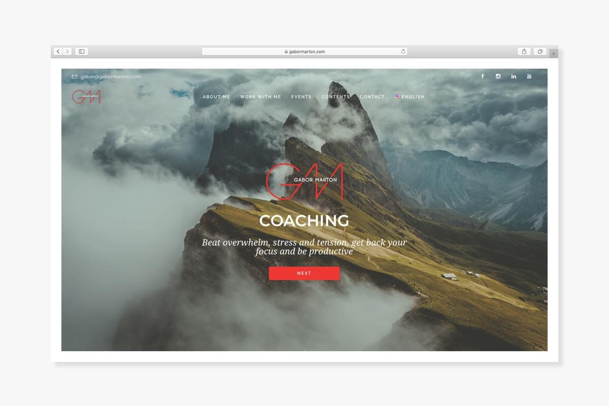 Gabor Marton, coach - Wndeer Design