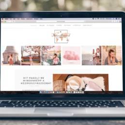 NorinAround weboldal - Wndeer Design