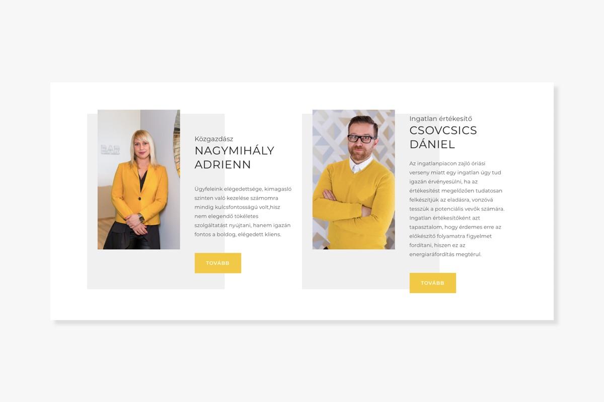 Design2Sell - Home Staging weboldal - Wndeer Design