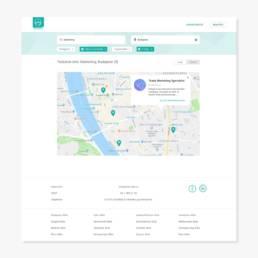 Állásportál Webdesign - Wndeer Design