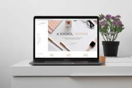 Ügyvéd weboldal - Legal Diaries - Webdesign by Wndeer