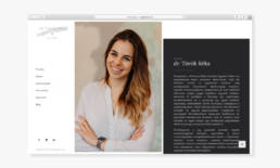 Wndeer Design - Webdesign Referencia - Legal Diaries - Dr. Török Réka