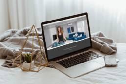 Lakberendező weboldal / Wndeer Design