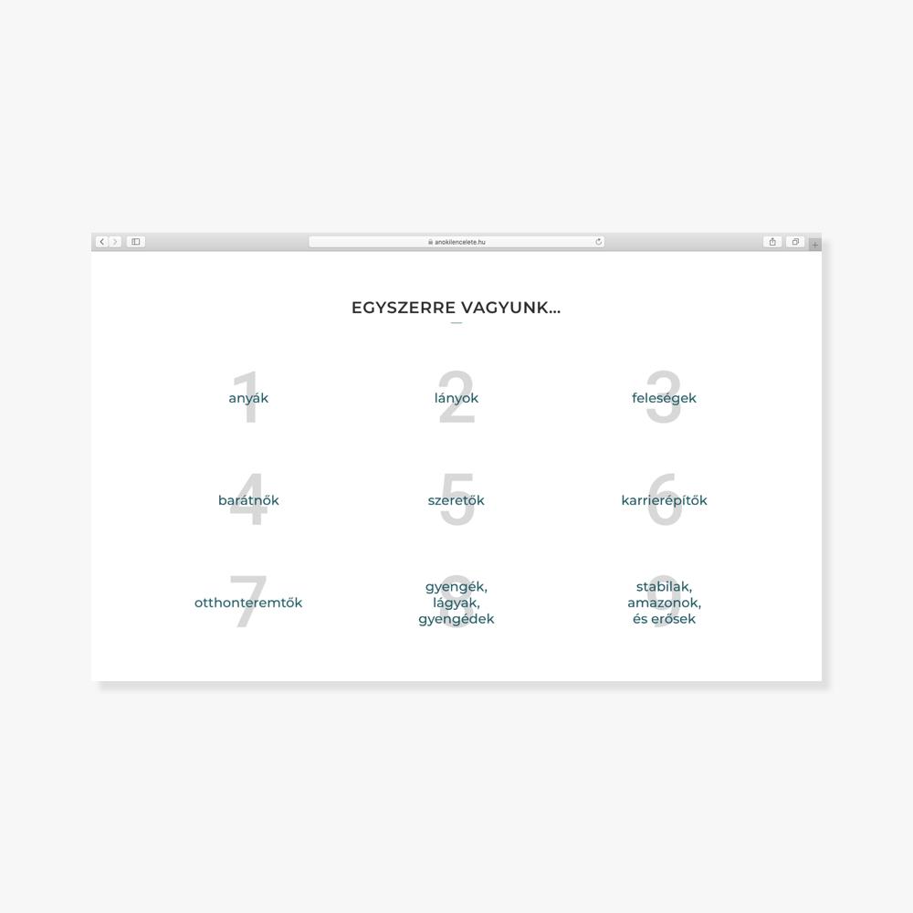 Landing oldal készítés / Wndeer Design